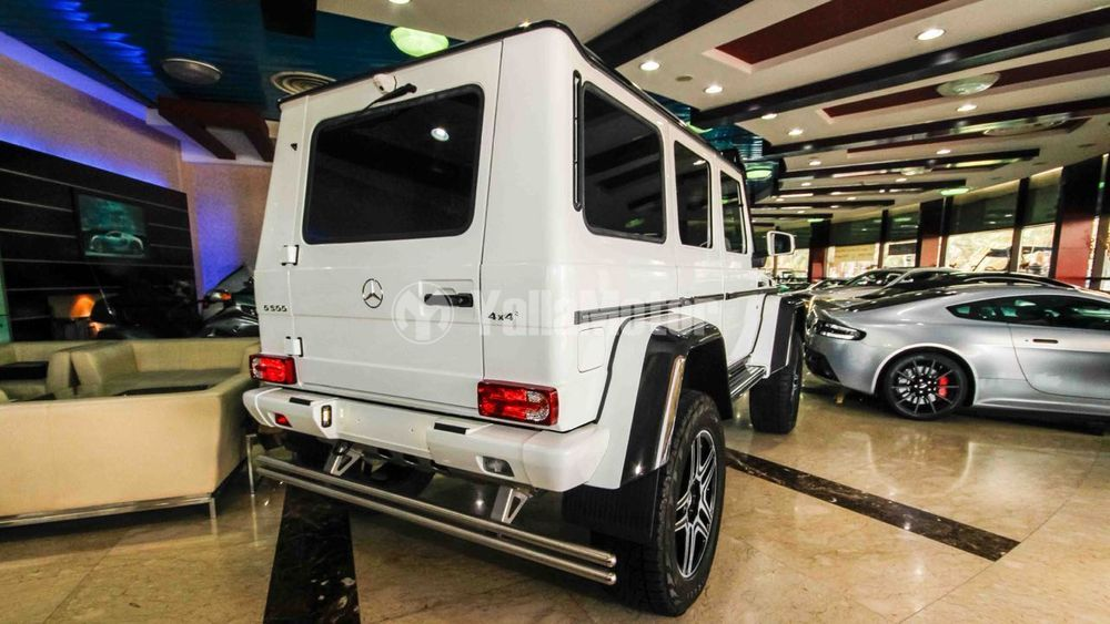 New Mercedes-Benz G-Class G500 4x4 2017