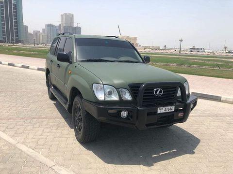 Lexus 2003 lx470 specs | Lexus LX LX470 (4x4) 2003 Price & Specs