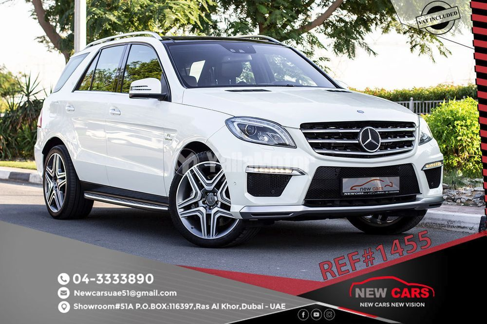 Used Mercedes-Benz ML 63 AMG 2013