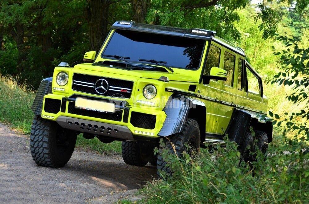 Used Mercedes-Benz Brabus B63S-700 6x6 2001