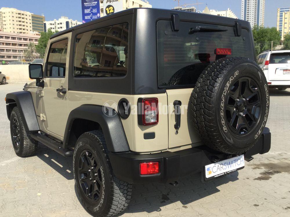Used Jeep Wrangler 2017