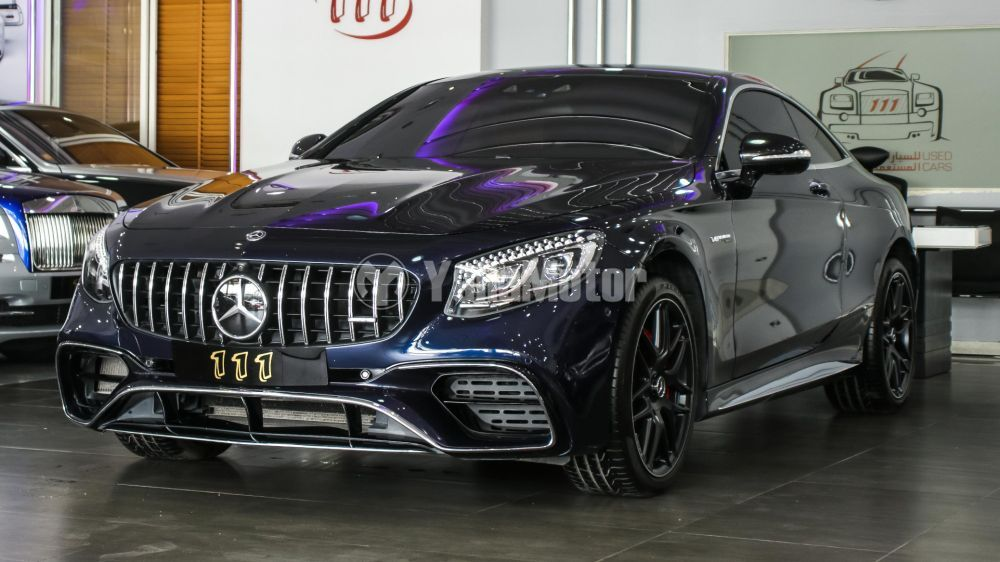 Used Mercedes Benz S Cl Coupe 500
