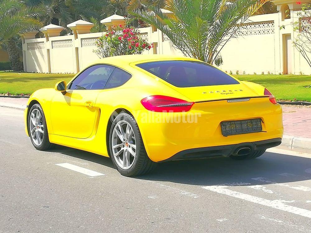 Used Porsche Cayman 2015