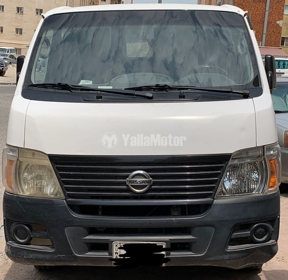 Used Nissan Urvan 3-Seater Manual (4-Door) 2007