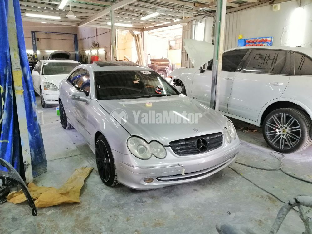 Used Mercedes-Benz CLK-Class 2004