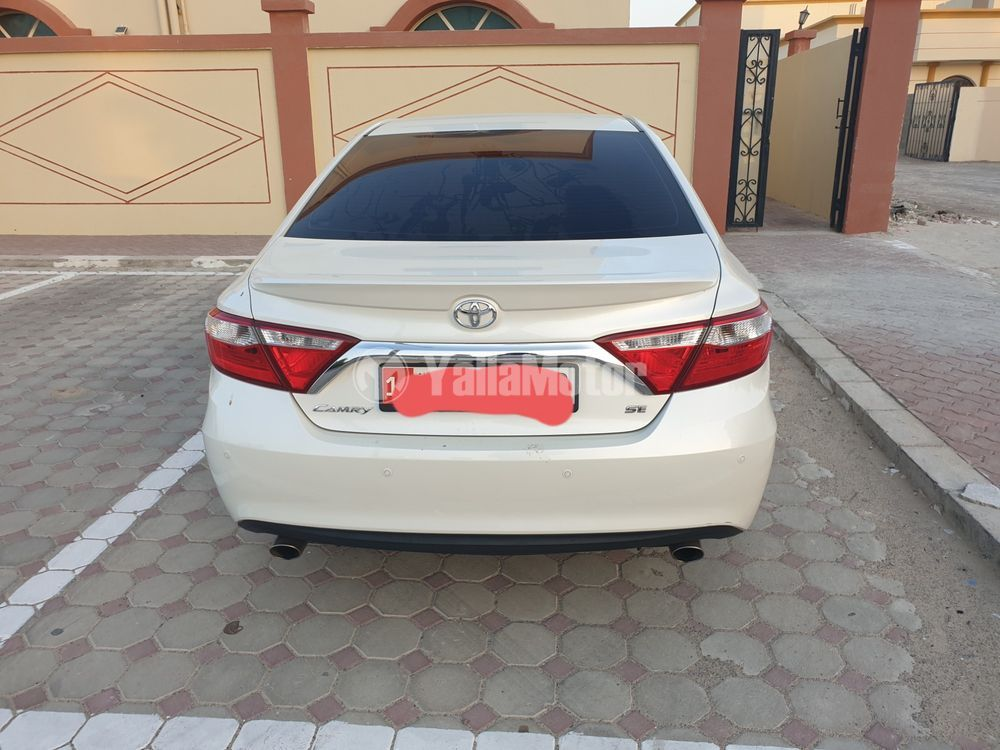 Used Toyota Camry 2.5L SE 204 HP 2016