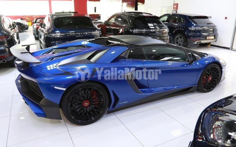 New Lamborghini Aventador LP750-4 SV Coupe 2017