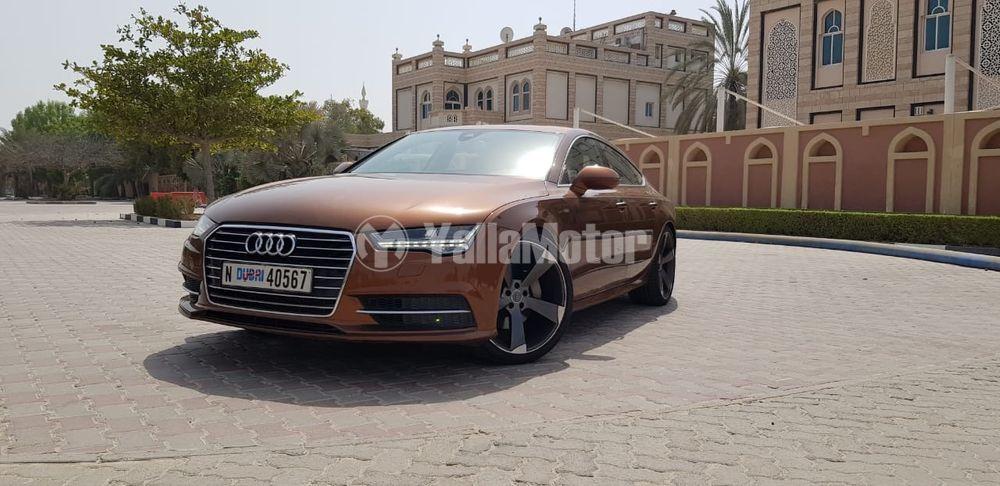 Used Audi A7 40 TFSI quattro (252 HP) 2015