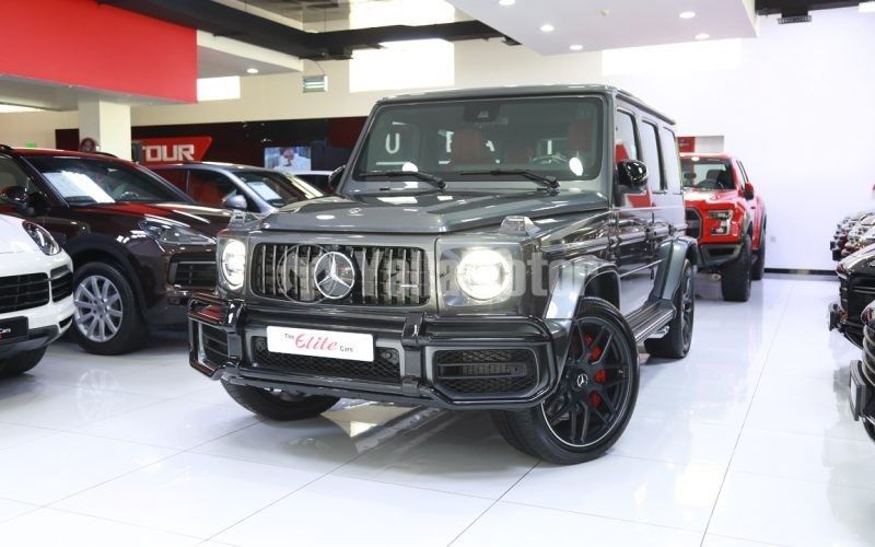 New Mercedes-Benz G 63 AMG 2020