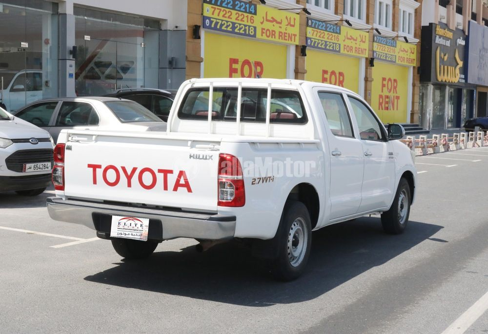 Used Toyota Hilux 2.7 Double Cab 4x2 2015