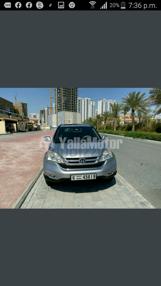 Used Honda CR-V 2.4 EX-L 2011