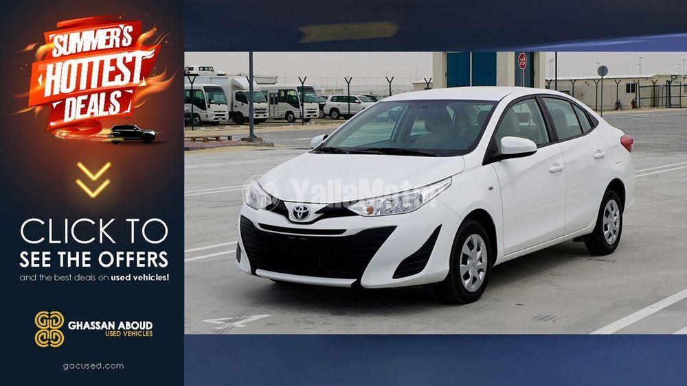 Used Toyota Yaris Sedan 1 3 Se 2019 1016912 Yallamotor Com