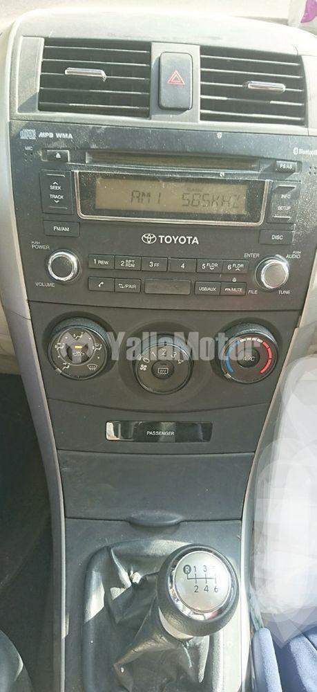 Used Toyota Corolla 1.6L Standard 2012