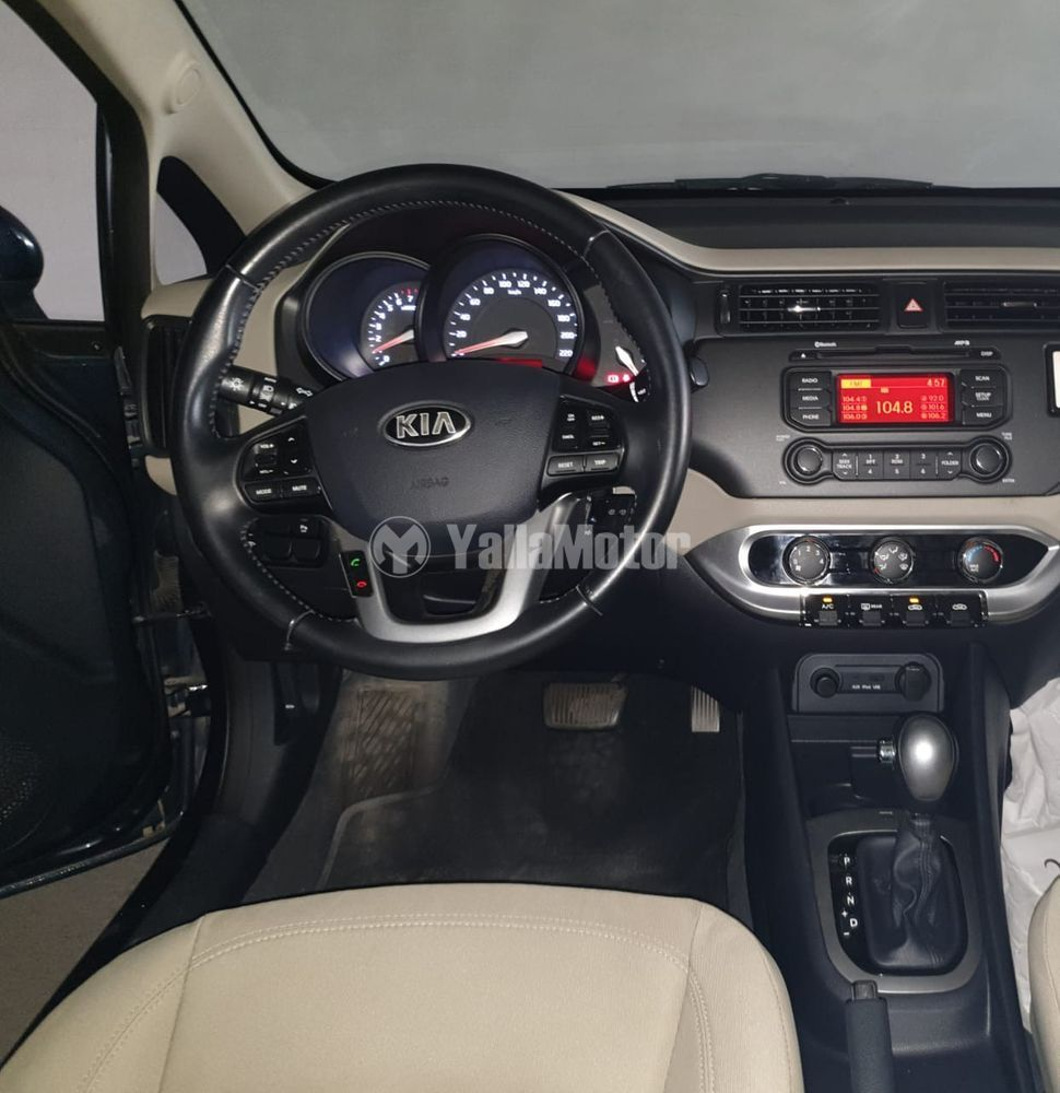 كيا ريو 4 Dor Sedan 1.4L 2014 مستعملة