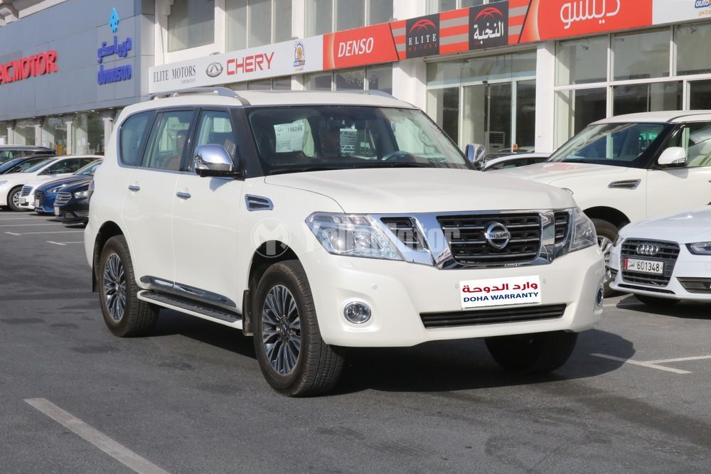 New Nisan Patrol PLATINUM 2019