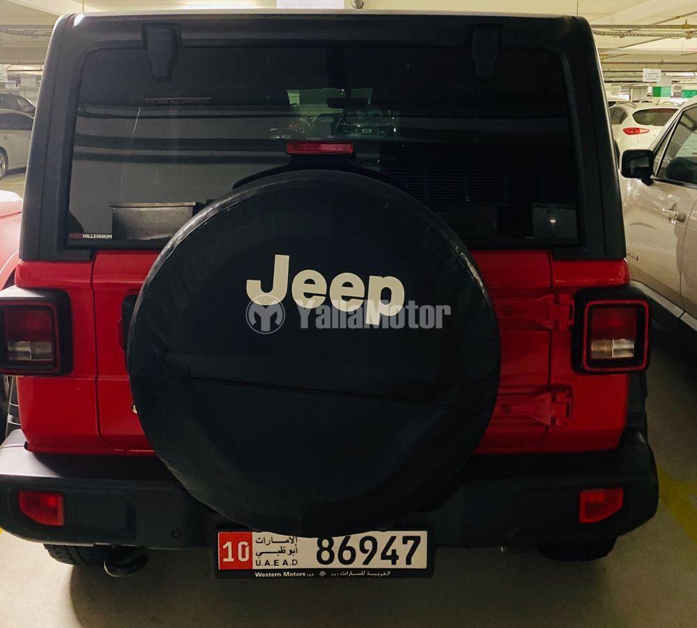 جيب رانجلر Unlimited 3.6L V6 Sport  2018 مستعملة