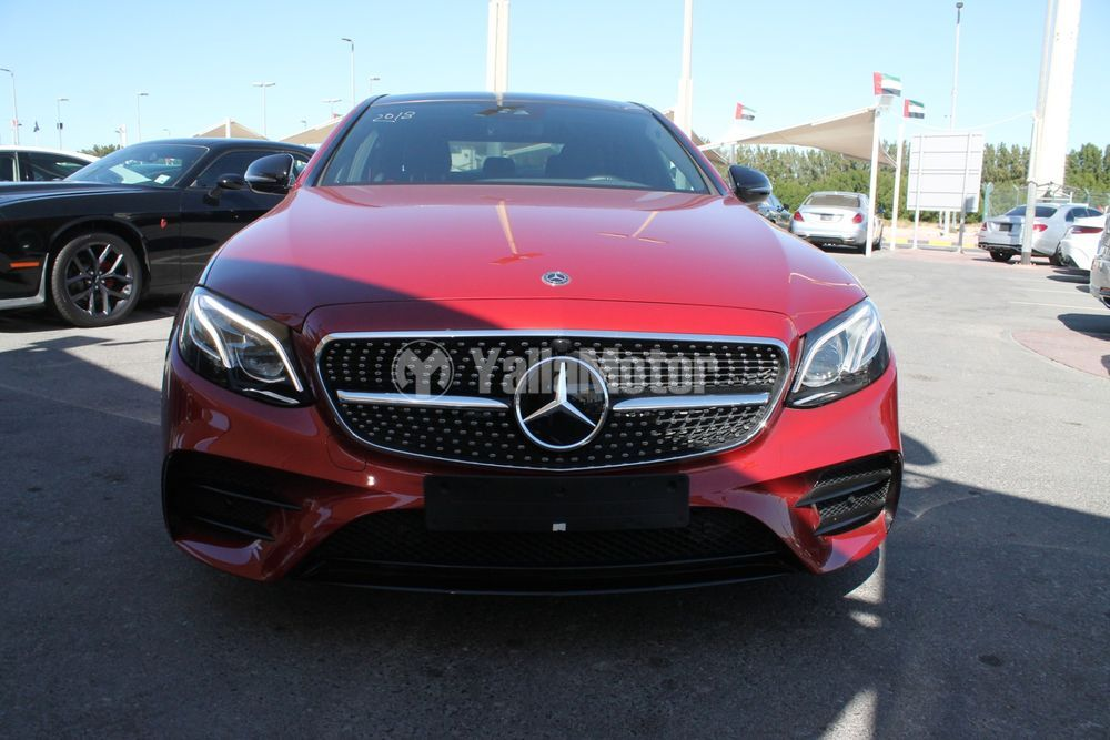 Used Mercedes-Benz E-Class 2018