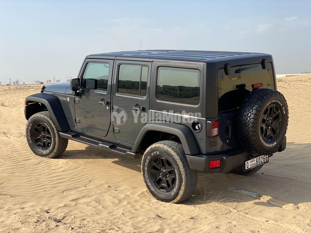 جيب رانجلر Unlimited  Willys Wheeler 3.6L A/T 2017 مستعملة