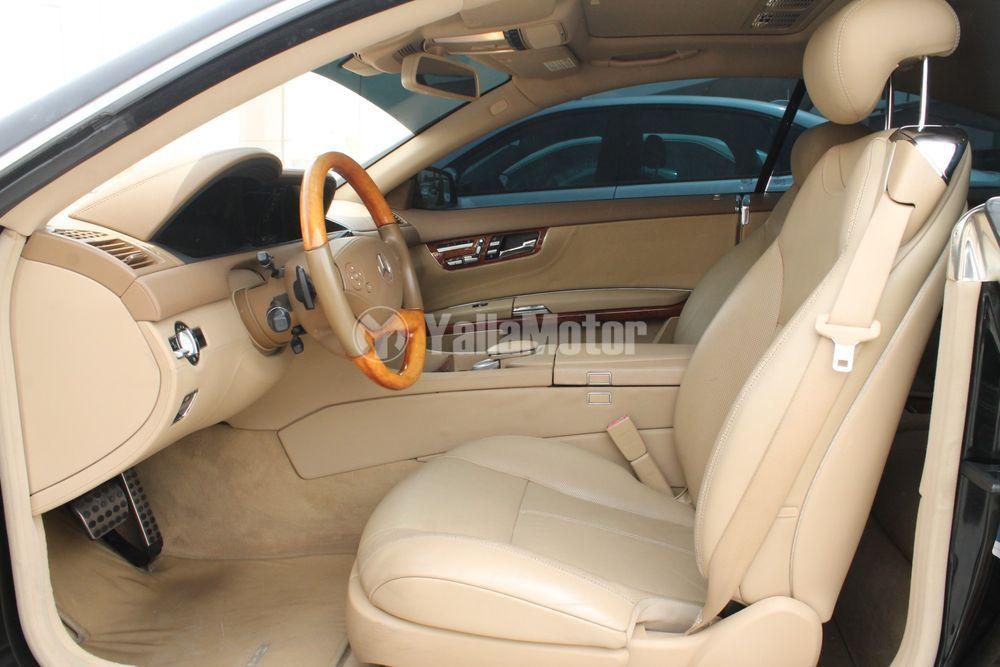 مرسيدس بنز الفئة سي أل  CL 500 2011 مستعملة