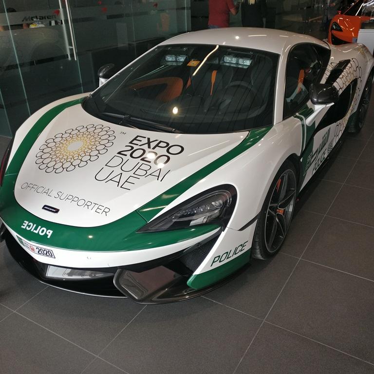 McLaren Showroom Opening Dubai