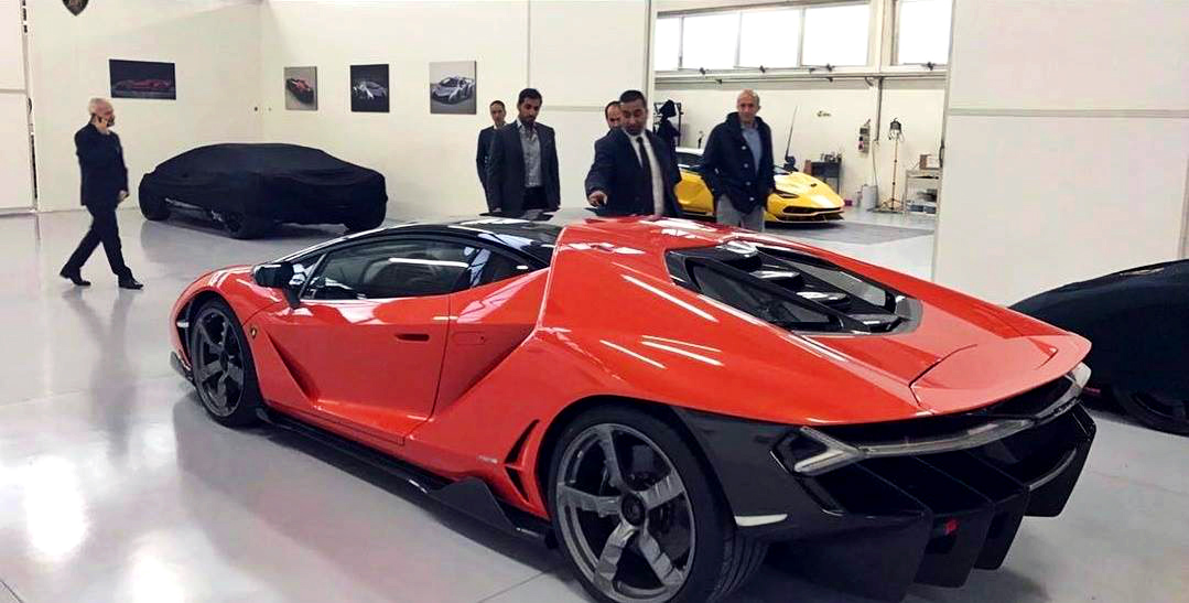 First Lamborghini Centenario Delivered To Uae Royalty Qatar Yallamotor