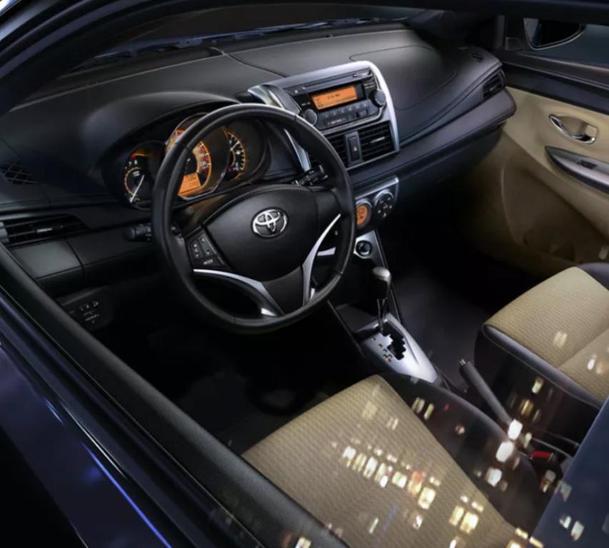 Toyota Yaris Hatchback 2017 Interior
