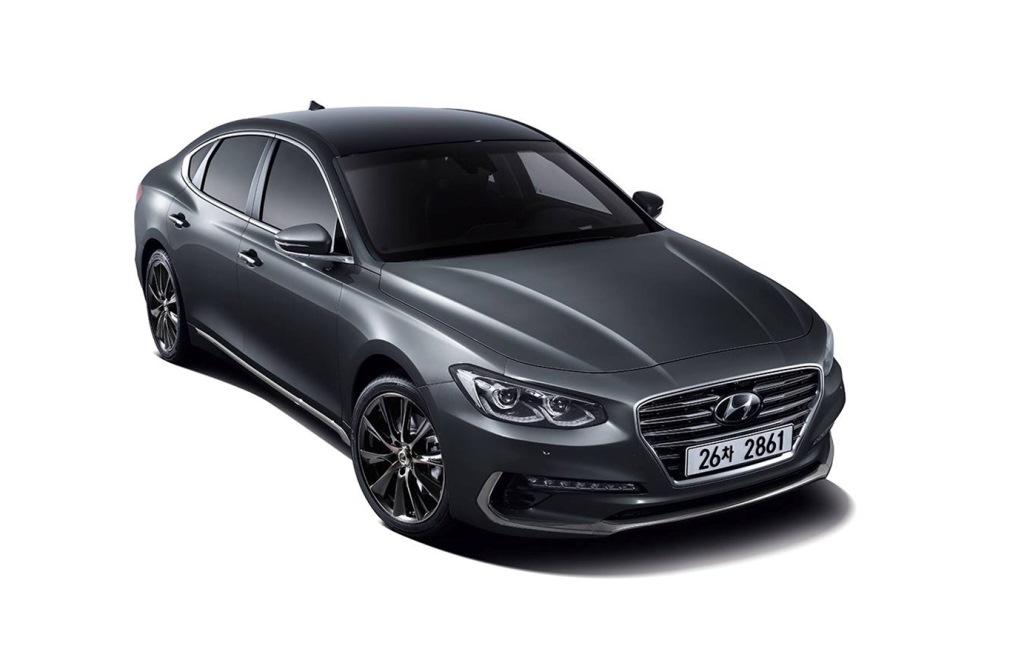 Hyundai Azera 2018 Front