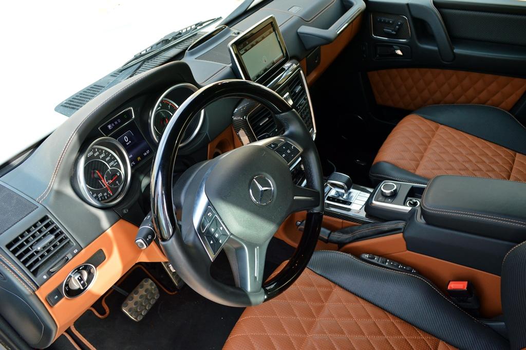 Mercedes AMG G63 2017 Interior