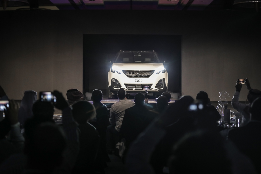 Peugeot 3008 Launch UAE