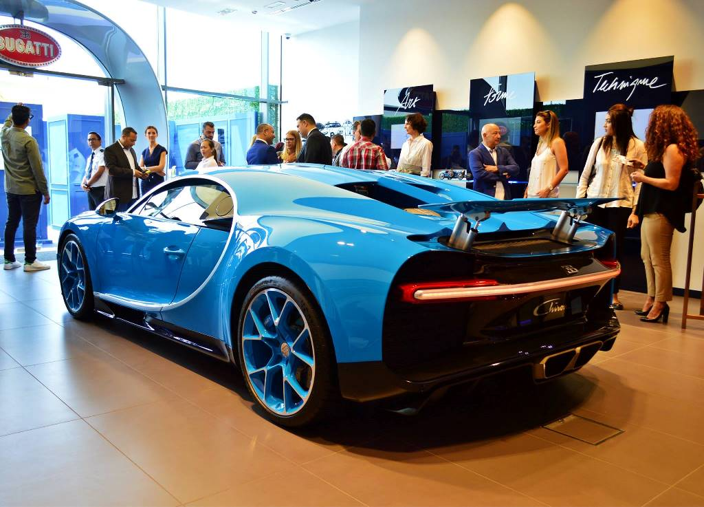 Bugatti opens its largest showroom in Dubai | Qatar - YallaMotor on aston martin showroom, alfa romeo showroom, audi showroom, rolls royce showroom, dodge showroom,