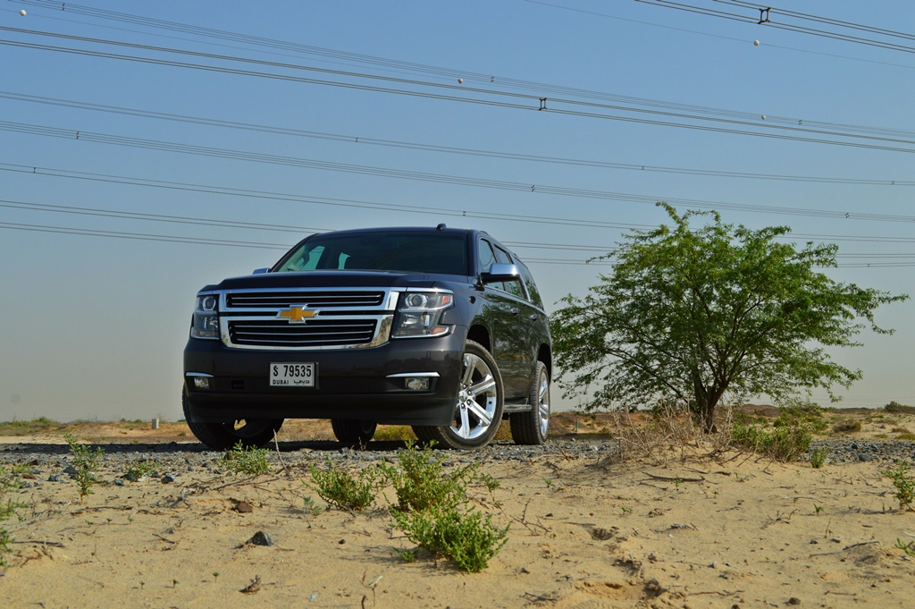 Chevrolet Tahoe 2017 Front