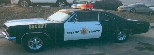 Classic Car In Uae Seized For Resembling Police Car Qatar Yallamotor