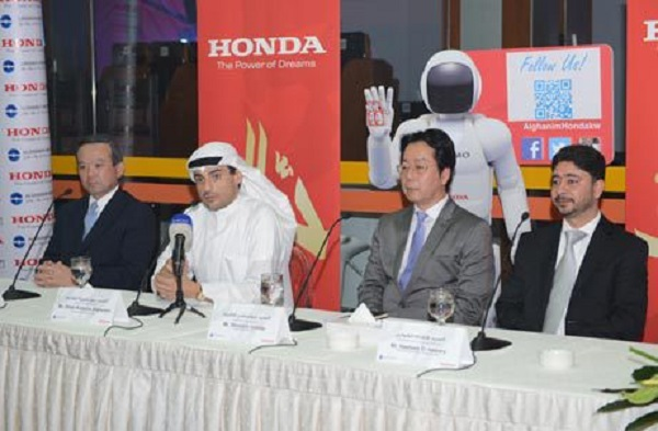 Honda partners up with Alghanim Industries in Kuwait   UAE