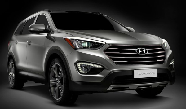 7 Seater Hyundai Grand Santa Fe set to hit Middle East market ...