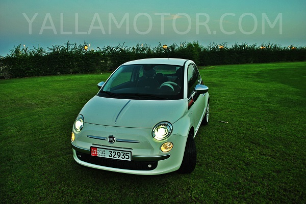 road test 2014 fiat 500 gucci qatar yallamotor. Black Bedroom Furniture Sets. Home Design Ideas