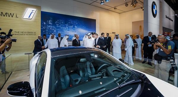 Dubai Motor Show 2013 Bmw I8 Steals The Show Uae Yallamotor
