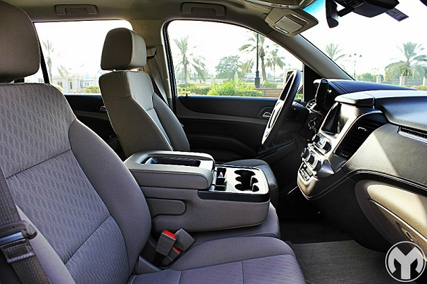 Just Like The 2015 GMC Sierra I Drove Earlier, The Tahoe Also Feels Like A  Nice Place To Be In. Even Though It Was A Mid Level Trim, It Had Leather  Wrapped ...