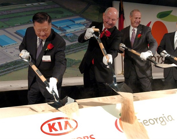 kia motors to build a 1 5 billion plant in mexico uae yallamotor. Black Bedroom Furniture Sets. Home Design Ideas