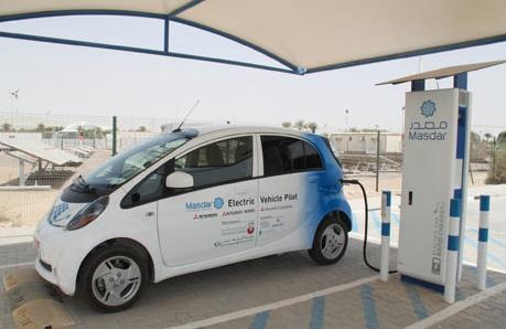 Electric Car Charging Station Now In Abu Dhabi Uae