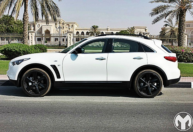 Road Test Review Infiniti QXS Elite Sport Qatar YallaMotor - Infiniti elite