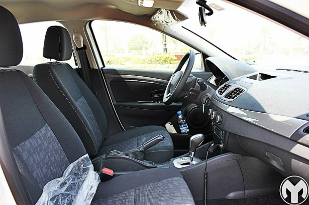 Road Test Review 2015 Renault Fluence Egypt Yallamotor