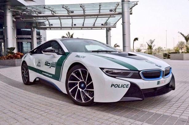 Bmw I8 Joins Dubai Police Fleet Qatar Yallamotor