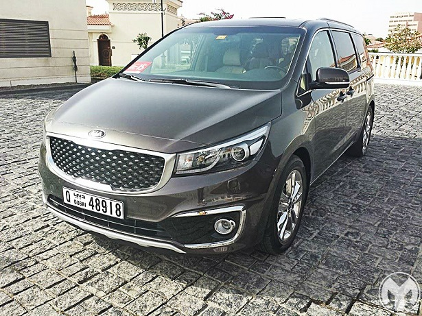 First Drive 2015 Kia Grand Carnival Uae Yallamotor