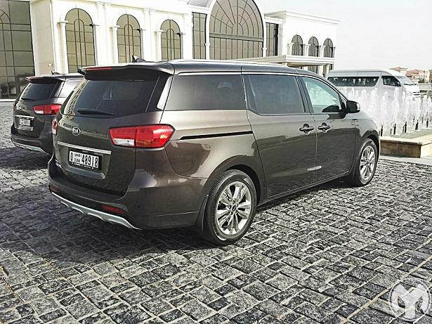 First Drive 2015 Kia Grand Carnival Saudi Arabia Yallamotor