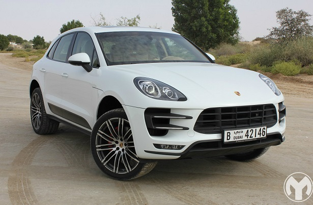 Road Test Review 2015 Porsche Macan Turbo Uae Yallamotor