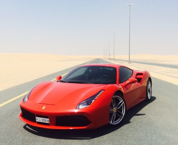 First Drive 2016 Ferrari 488 Gtb Qatar Yallamotor
