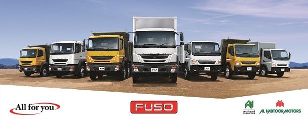 mitsubishi fuso brand now under al habtoor motors in ksa | saudi