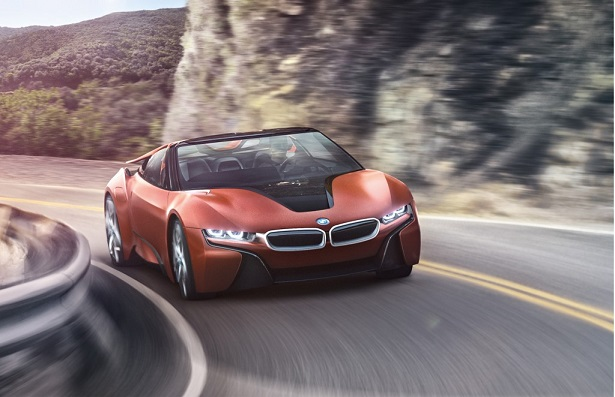 Now There Is A Droptop Bmw I8 Uae Yallamotor
