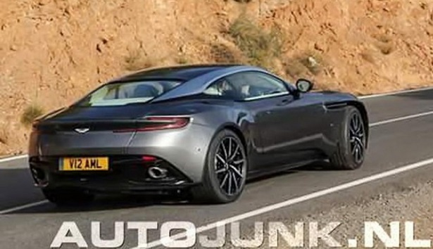 2017 Aston Martin Db11 Leaked Qatar Yallamotor