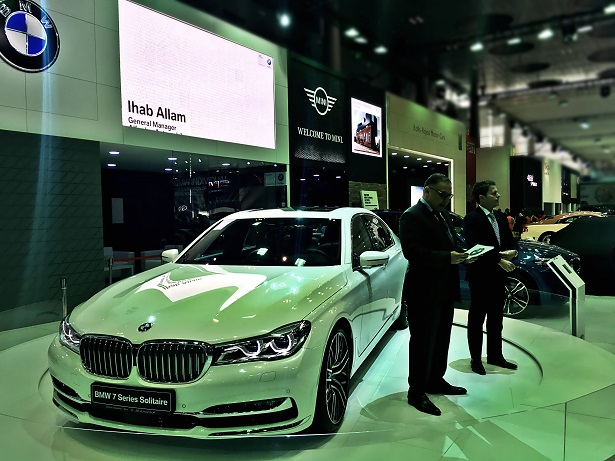 bmw m2 and 7 series solitaire edition launched at qatar motor show